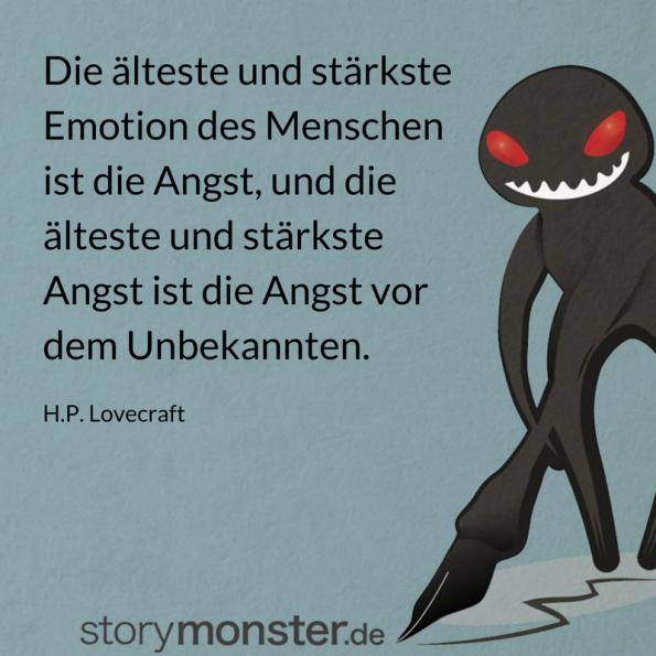 Lovecrafts Tipp für Autoren