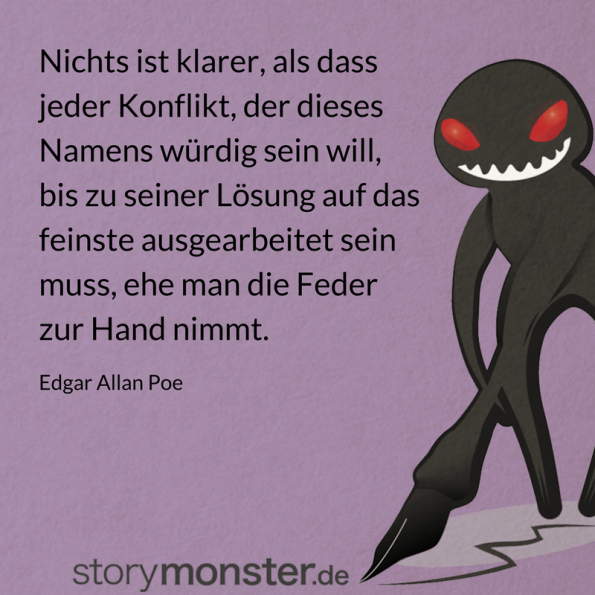 "Klare Sache: Poe war ""Plotter"", nicht ""Pantser"""