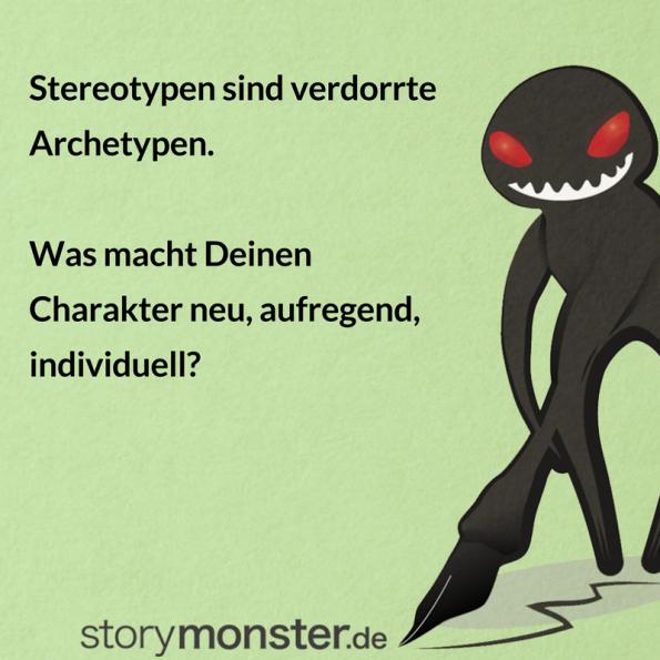Archetypen - Liste mit elf Antagonisten und Beispielen
